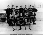 Anchorage hockey team, 1935-1939.