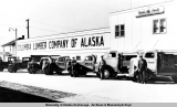 Walt's Transfer Co. trucks and drivers, 1935-1939.
