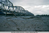 Big Gerstle [trestle] bridge 8-31-52 Alaska Highway.