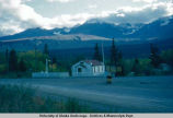 Canadian Mounted Police station, Haines Junction. 31-8-53.