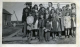 Group of children in Naknek.