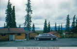 Tazlina Glacier and Lodge m[ile] 156 Glenn Hi[ghway] 8-30-52.