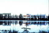 Administration building across Mosquito Lake.