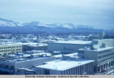 Aerial view of Anchorage, 1968.