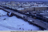 Aerial view of Anchorage Fur Rendezvous, 1968.
