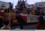 Golden Days parade float with stagecoach, Fairbanks.
