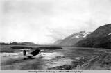 Taking off of the Valdez mud flats, 1937-1939.