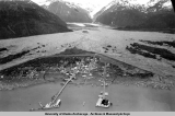 Valdez, Valdez Glacier in Background, 1937.