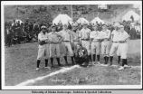 Baseball players, Anchorage, July 4, 1915.