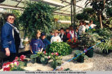 School children visit Alaska Greenhouses, Inc.