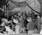 USO, Anchorage. Halloween dance 1943.