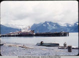 Docks at Seward, Alaska.