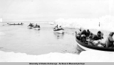 Whale hunting at Gambell [1938-1941].