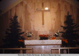 All Saints altar Christmas Eve, 1953.