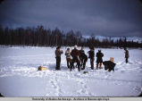 All Saints 'Active' Picnic, Big Lake, March '54.