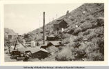 Mine buildings.