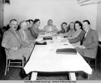 Executive Board Meeting, Alaska Territorial Federation of Labor, Ketchikan Convention, 1956