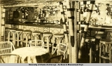 Interior of South Seas bar and dance room, Anchorage, 1942-1943.
