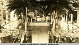 Dance floor at South Seas bar & dance room, Anchorage, 1942-1943.