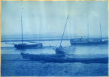 Boats on Cook Inlet, 1898.