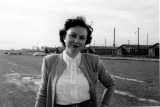 Civilian Women's Barracks.  Elmendorf AFB.  September 1951.