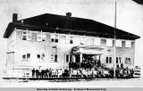 Anchorage Public School, 1922.
