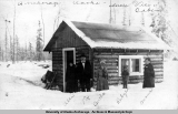 Anchorage, Alaska - Uncle Vic's Cabin [circa 1918].