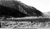 Fort Raymond tent camp and the Jesse Lee Home, Seward 1941.