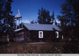 Russian Orthodox church, Eklutna.