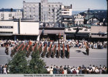 Parade in downtown Anchorage.