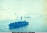 Unidentified vessel near Dyea, Lynn Canal, 1898.