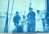 The crew of the schooner Olga on Prince William Sound, 1898.