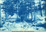 Headquarters at Portage Camp during May 1898.