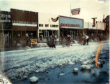 Sled dog races in Anchorage.