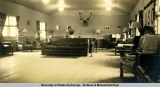 U.S.O., -43.  interior of lounge [Fairbanks, 1943].