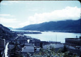 View of Juneau, Alaska, circa 1944.