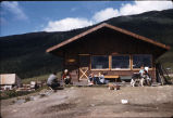Dining hall at Camp Denali.