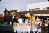 Float in parade Anc. Fur Rendezvous 2-22-58.