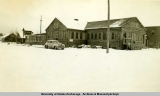USO building, Anchorage 1942-1944.
