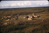 Air Force radar station under construction at Ft Yukon Sept '56.