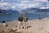 Military men at Baffin Island.
