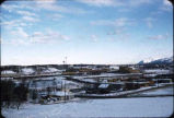 Looking toward Elmendorf Air Force Base from near Anchorage Hotel.
