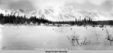 View of Mount McKinley from Broad Pass, 1919.