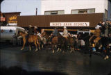 Horses in Anc Fur Rendezvous Parade 2-22-58.