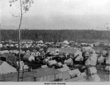Anchorage, Alaska tent city, 1915.