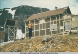 Bunkhouse at Monarch Mine, 1956.