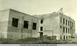 Federal Building construction, Fairbanks, Alaska, 1932-1933.