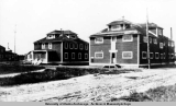 Alaska Engineering Commission buildings, Nenana, Alaska, 1920.