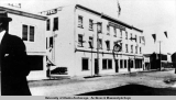 Nordale Hotel, Fairbanks, Alaska, 1920.