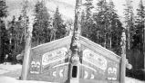 Club house, Totem Bight, Ward Cove, Ketchikan.